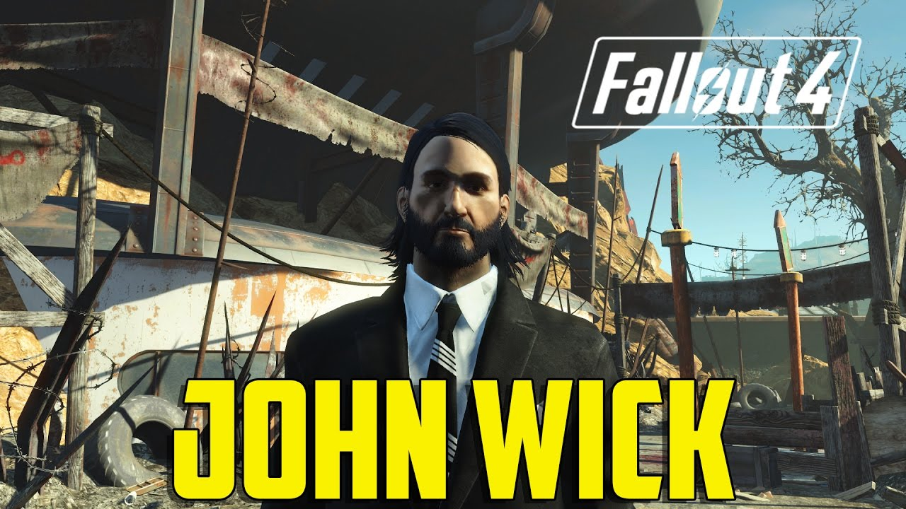 Fallout 4 how to make john wick