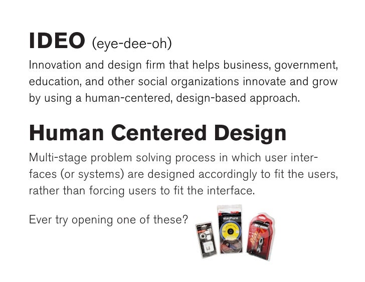 Ideo human centered design pdf