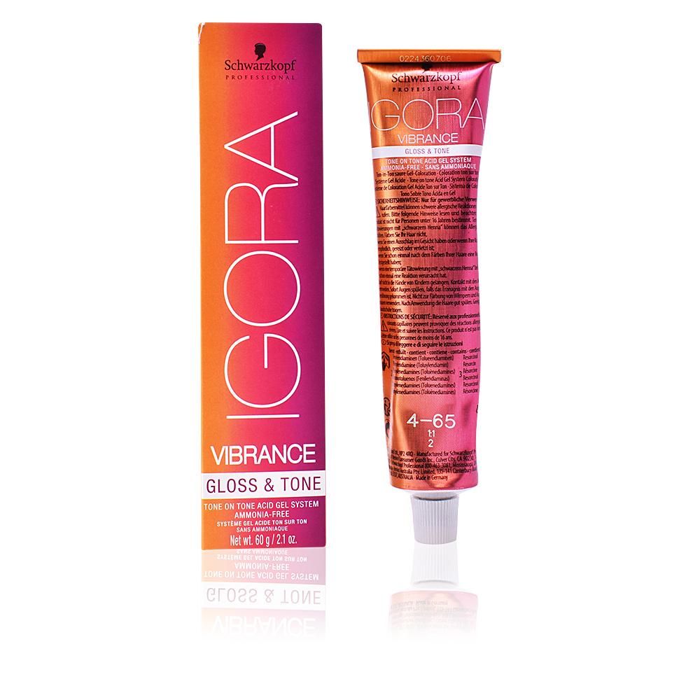 Igora vibrance gloss and tone instructions
