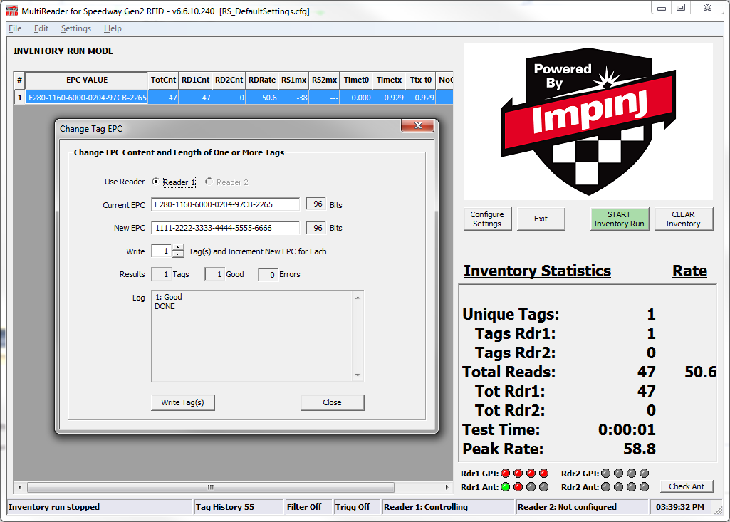 Impinj multi reader application download