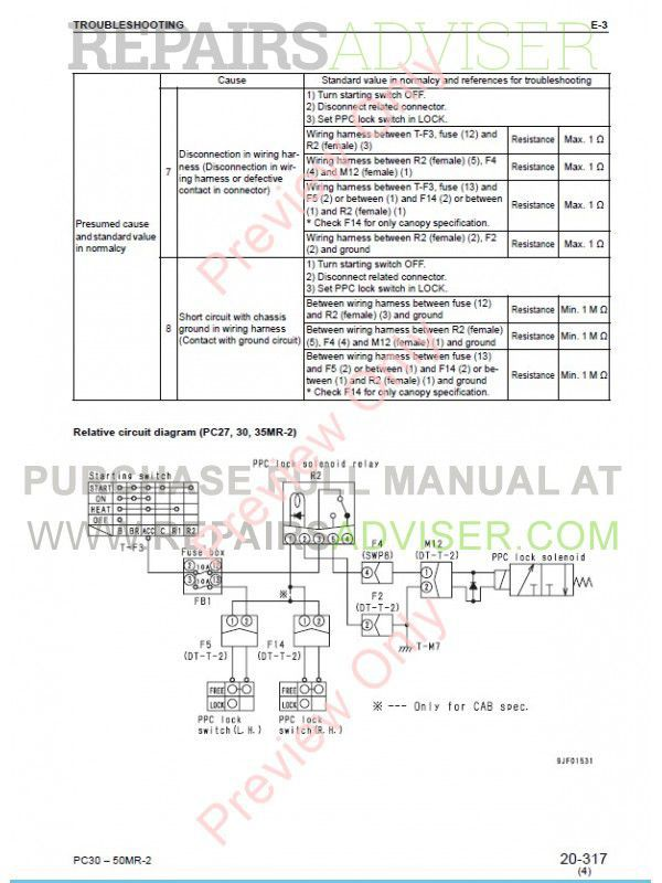 komatsu pc35mr 2 service manual