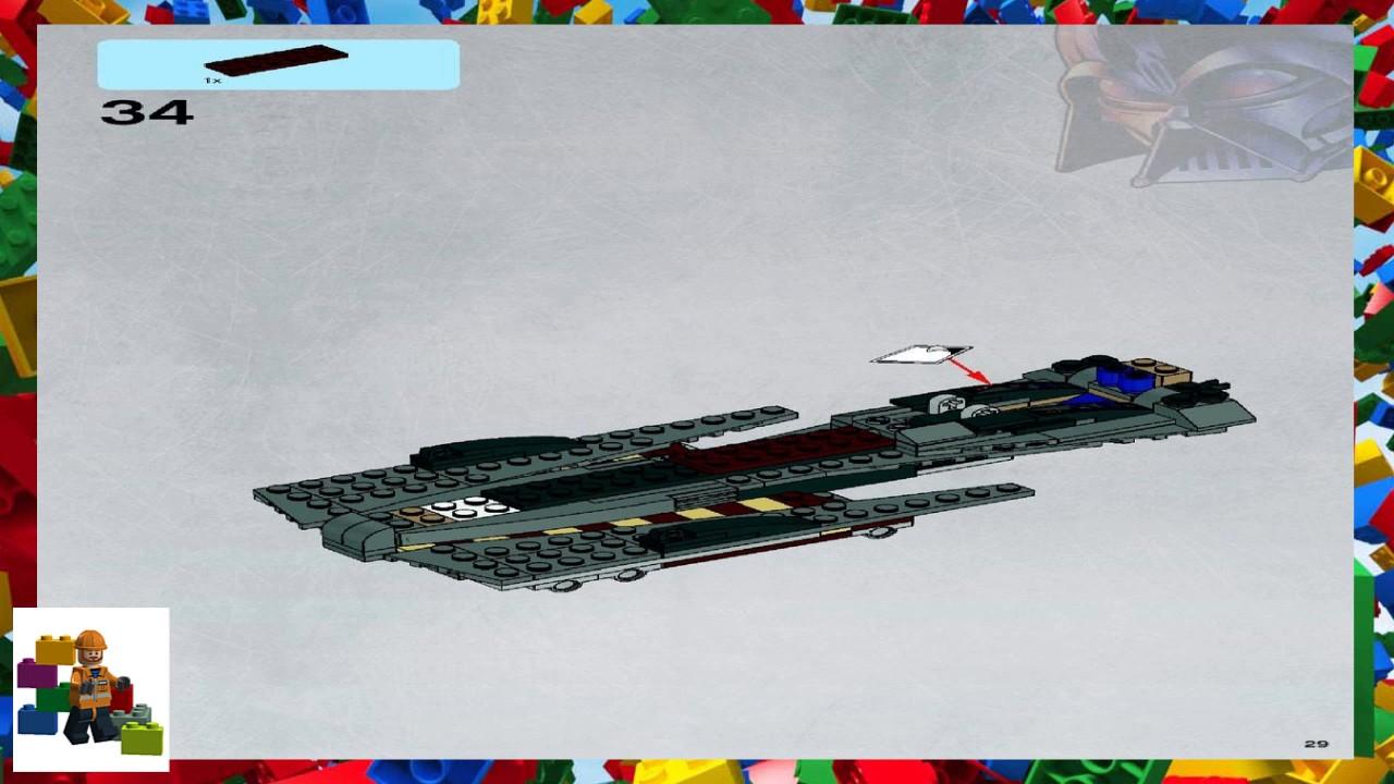 Lego general grievous starfighter instructions