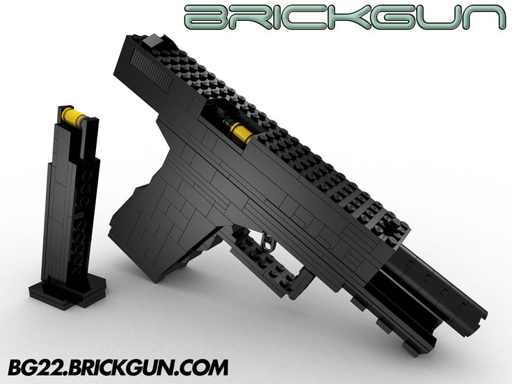 Lego how to build a working gun
