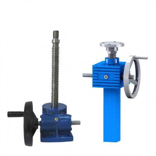 Manual worm gear screw jack