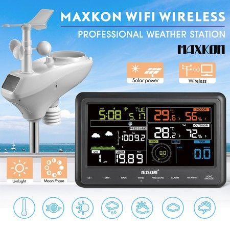 Maxkon weather station instruction manual