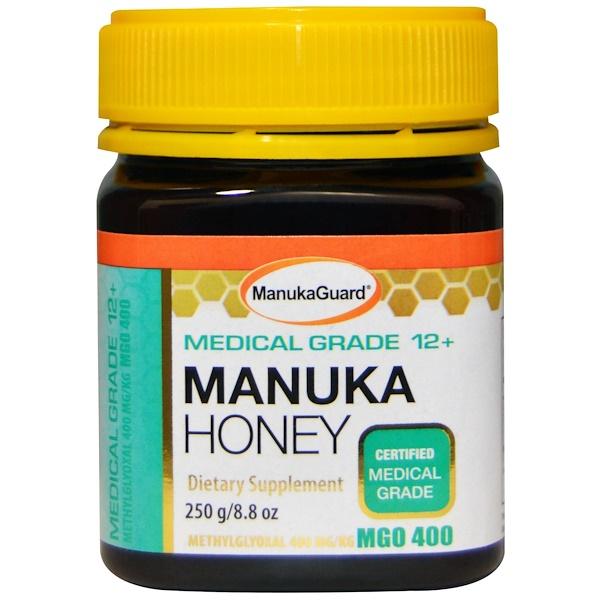 Medical grade manuka honey guide