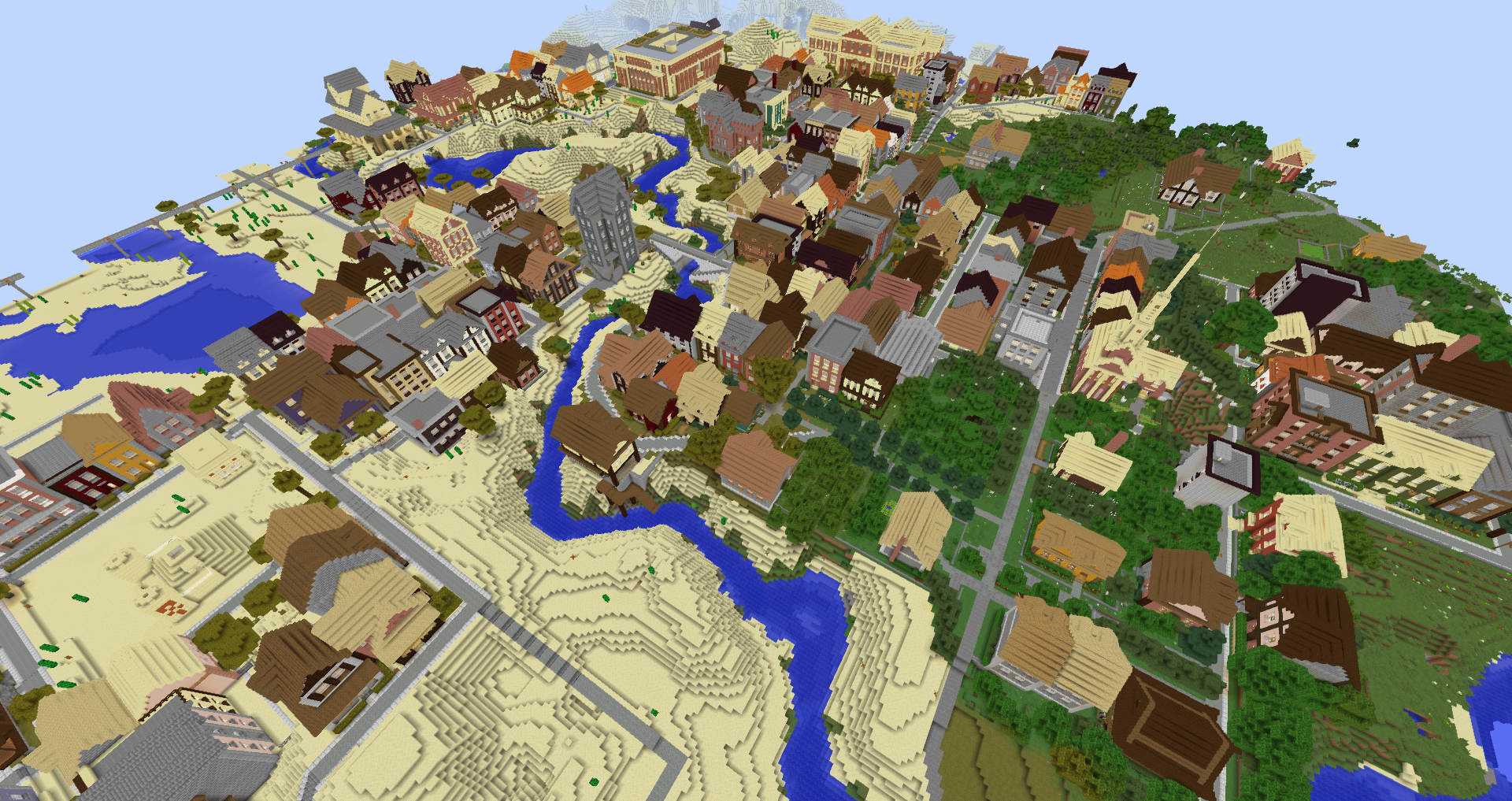 Minecraft how to build a city house