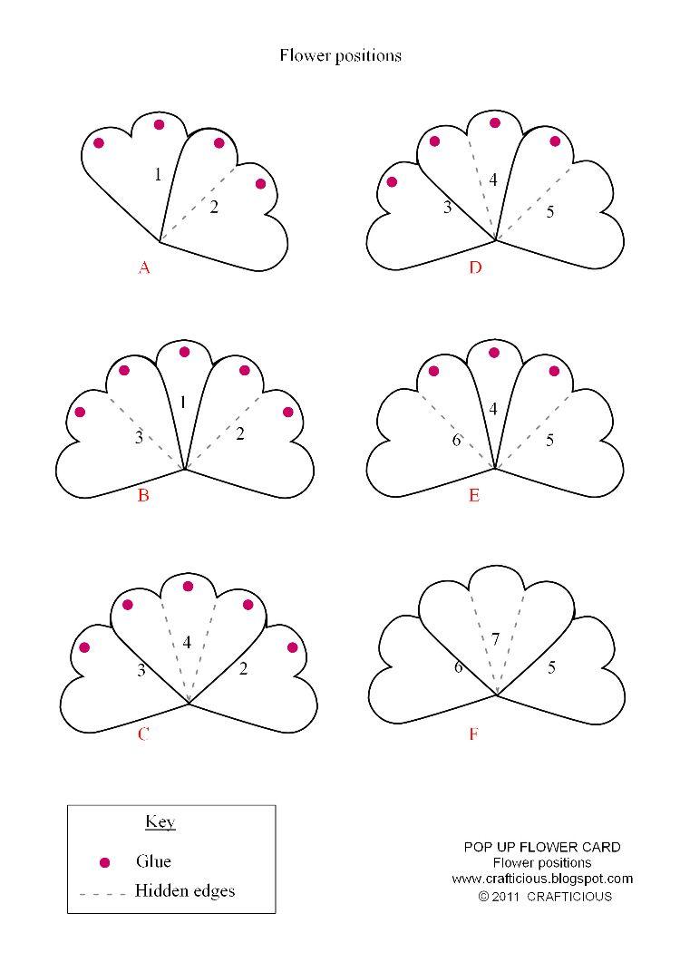 Pop up card instructions pdf
