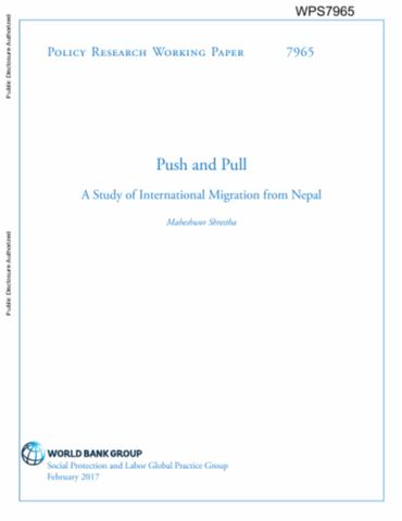 Push and pull factors of migration pdf