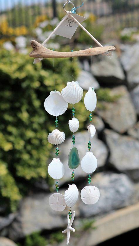 seashell wind chimes instructions