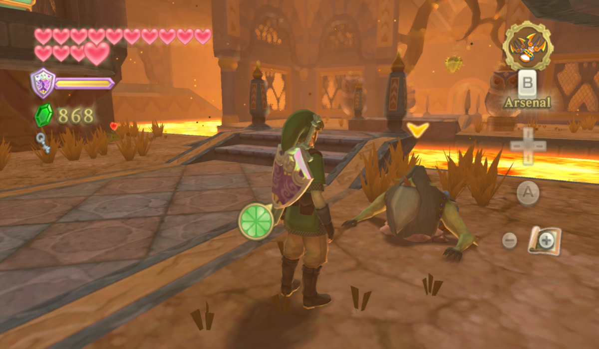 Skyward sword how to get into pirate base