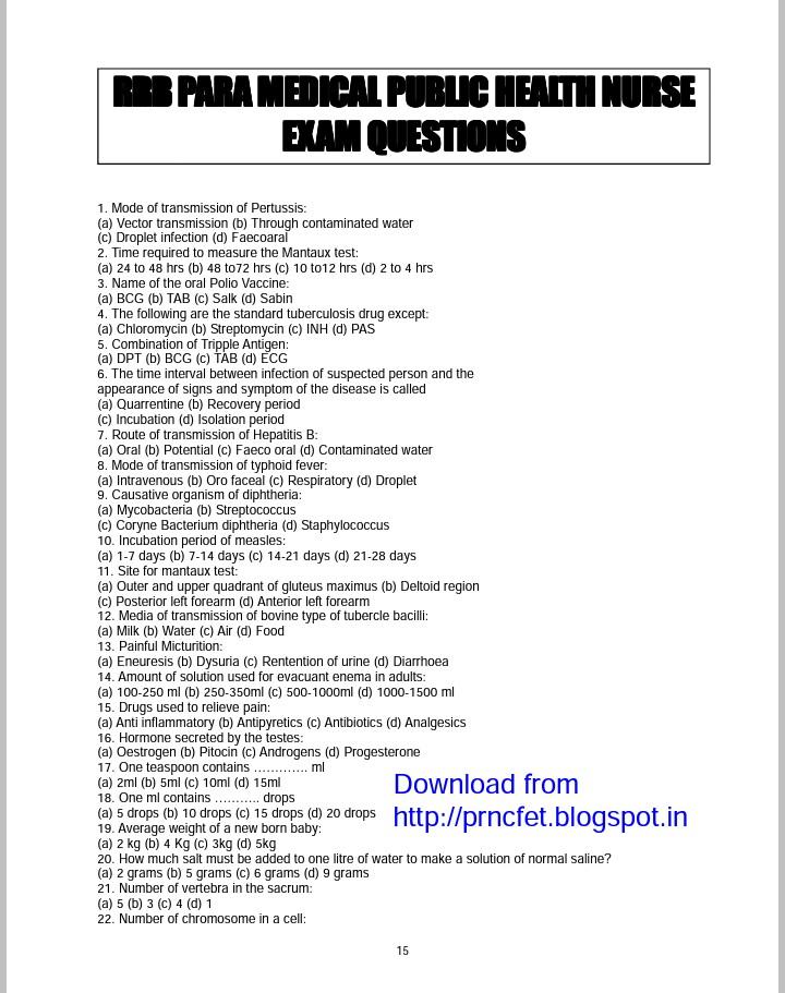 Staff nurse competitive exam books pdf
