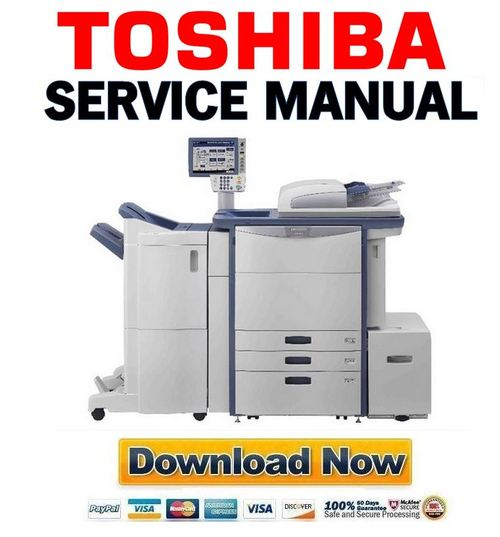 toshiba e studio 5540c service manual